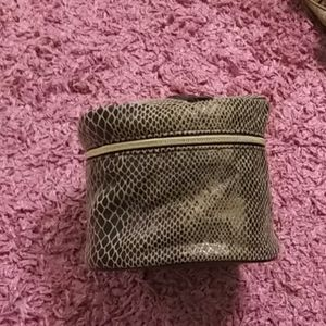 Leopard Lancome Cosmetic bag